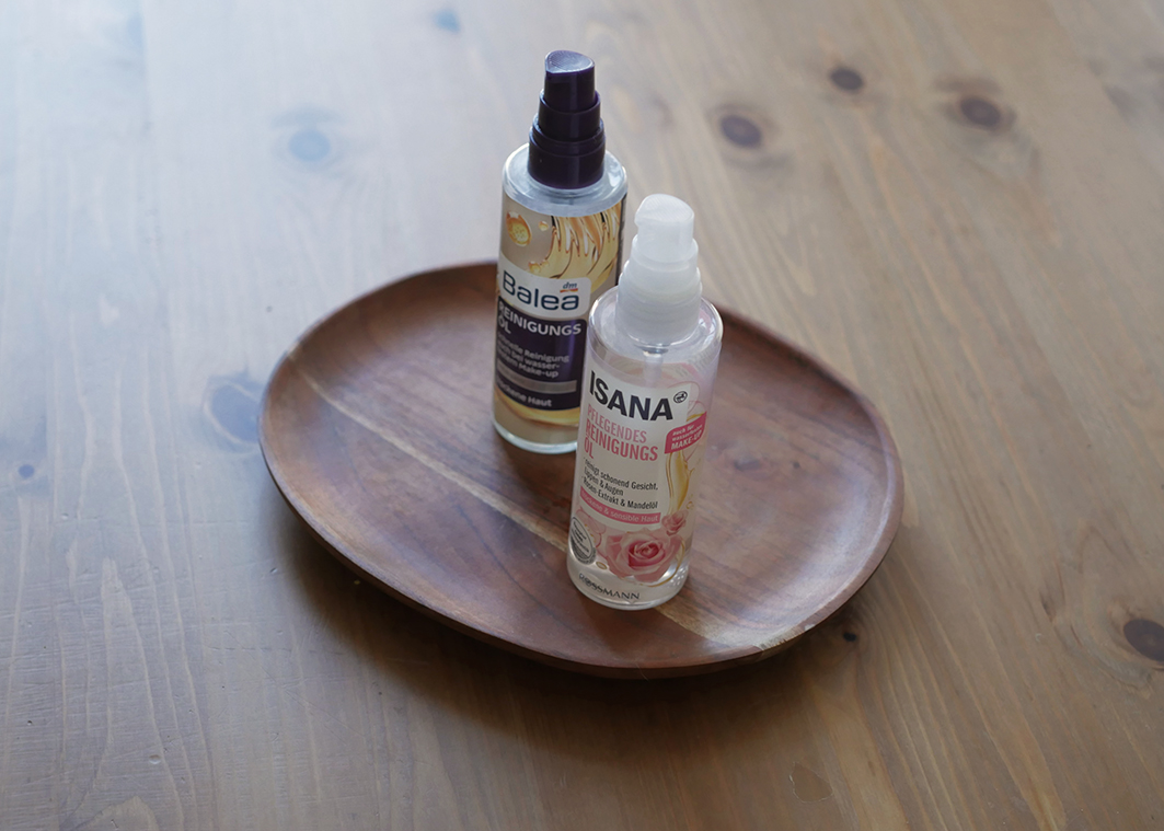 Isana Reinigungsöl auf Holz mit Balea Reinigungsöl
