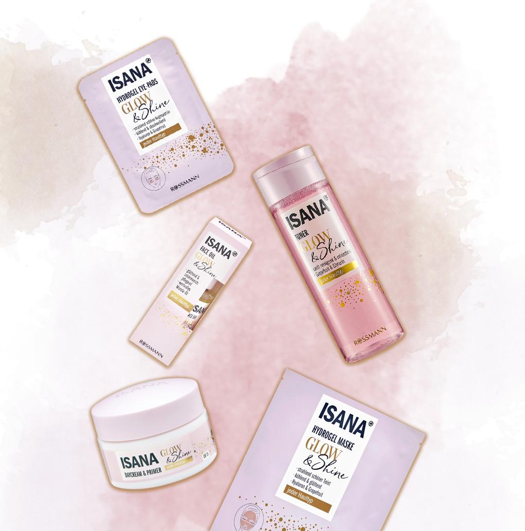 Isana Glow & Shine Hautpflege