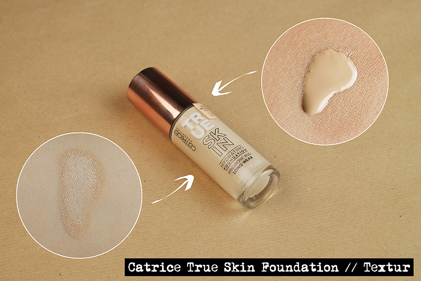 Catrice True Skin Foundation 002 Swatch