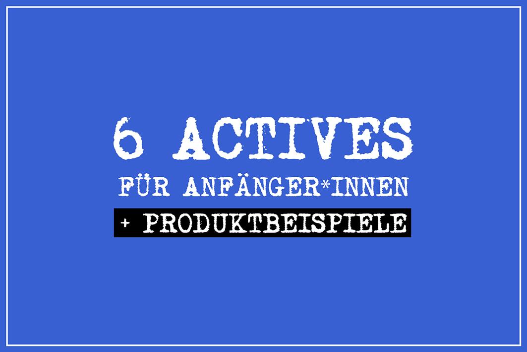 Actives für Anfänger*innen